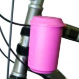 1021- Koozie pink Bike