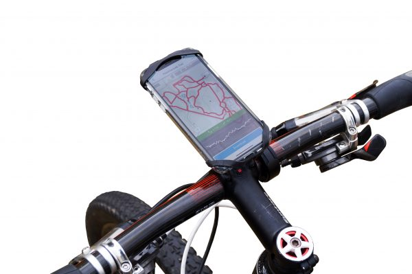 Universal smartphone holder for bike